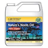 A bottle of Nature's Neem Oil